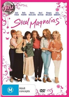 STEEL MAGNOLIAS Julia Roberts, Dolly Parton & Sally Field DVD NEW