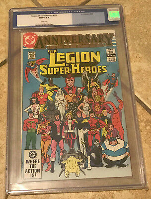 LEGION OF SUPER-HEROES #300 cgc 9.9 MINT Anniversary Issue 1983 Supergirl