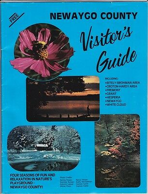 1980's Newaygo County Vacation Guide Book