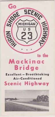 1950's North Shore Scenic Highway US Route 22 Brochure