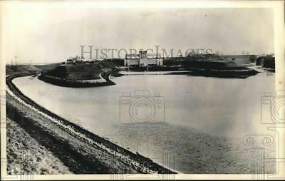 1939 Press Photo Gleiwitz Germany view of Hitler Canal alleged attack by Poland