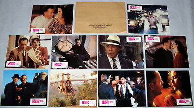 HUDSON HAWK Bruce Willis Danny Aiello Andie MacDowell 10 FRENCH LOBBY CARDs