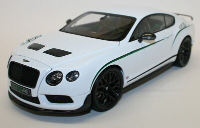 Almost Real 1/18 Scale Metal Model 830401 Bentley Continental GT3-R 2015 - White