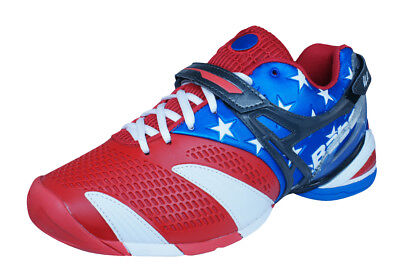 Babolat Propulse 3 Andy Roddick Stars and Stripes Mens Tennis Sneakers - Red