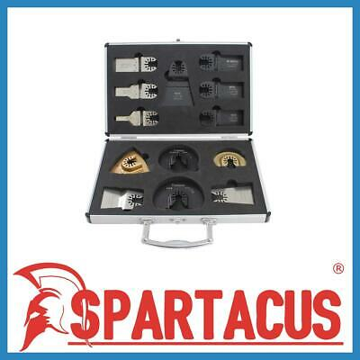 Spartacus 13pc Multi Tool Wood Metal Cutting Blades Set Dewalt Stanley Makita