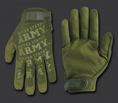 ARMY STRONG Lightweight Mechanic's US Finger Handschuhe Gloves OD Green oliv XL