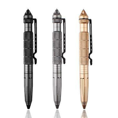 Handy Tactical Defender Self Defence Pen with Glass Breaker First Aid Safety LE#
