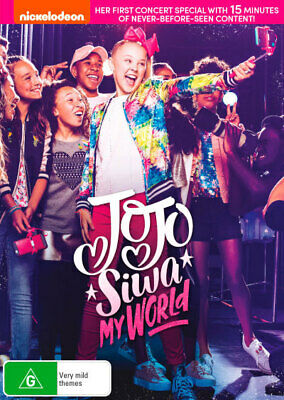 Jojo Siwa My World - star from Dance Moms DVD R4 New!