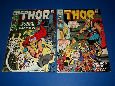 The Mighty Thor #180,181 Bronze age Neal Adams