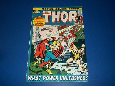 The Mighty Thor #193 Bronze Age Silver Surfer Wow
