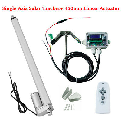 1KW solar tracker system -single Axis Complete Kit sunlight tracking w/ linear