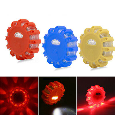 3Pack Beacon Magnetic Road Flare Flash Emergency Strobe Warning LED Safety Light