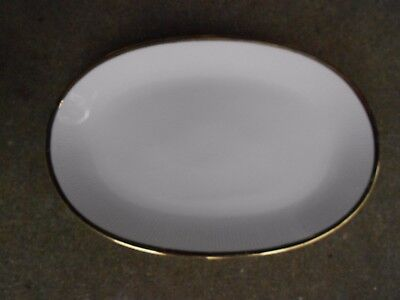 Mitterteich Z&Co Tirschenreuth Bavaria Germany SERVING PLATTER Gold Border