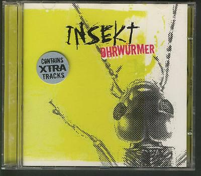 INSEKT Ohrwürmer CD ALBUM XTRA TRACKS synthpop new beat depeche mode cover