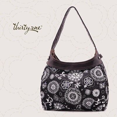 *NEW* Thirty One CITY PURSE *SKIRT ONLY* in ONYX MEDALLION - NIP