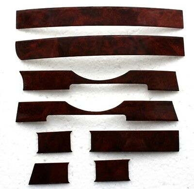 Wood Dashboard Mercedes W107 Burl For 3 Switches Us Modell