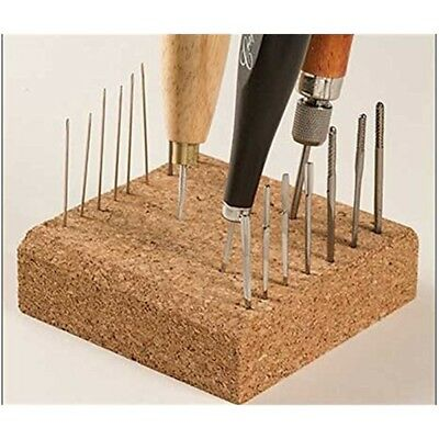 Craftool Awl Block 4 x 4 x 1-1/4 (101 x 101 x 32 Mm) 3216-00 By Tandy Leather