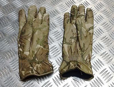 Genuine British Military MTP Multicam Leather Combat Gloves MK2 MVP Grade 1
