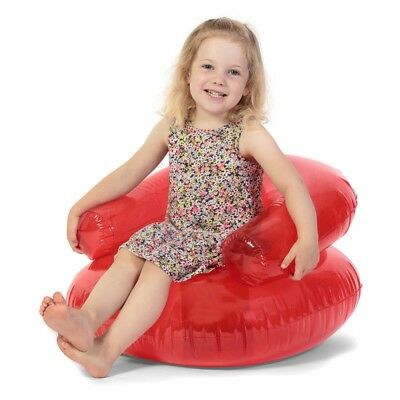 Child's Inflatable Chair - Childs Tobar Blow Up Seat Furniture Box Damage