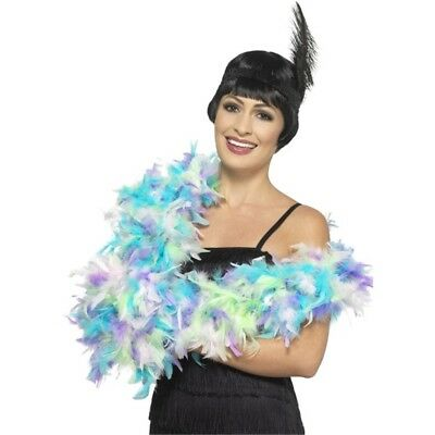 180cm Feather Boa - Deluxe Ladies Fancy Dress Costume Accessory Hen Party 20s