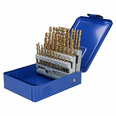 Engineers Fractional Drill Bit Set HSS 16mm in 0.1mm Increments 51pc AT020