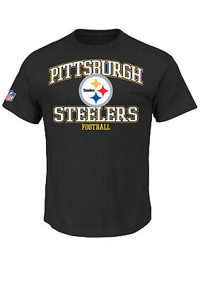 NFL Football Pittsburgh Steelers T-Shirt Tee Greatness schwarz