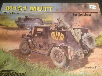 Squadron Signal Book 12051 M151 Mutt In Action By David Doyle