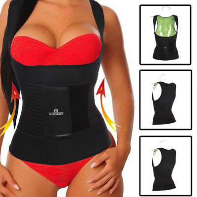 Neoprene Cami Hot Shaper Girdle Comfirm Control Shapewear Fajas Thermo Corset US