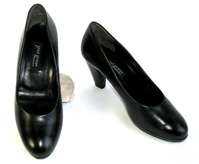 Paul Green - Shoes Heel 7.5 cm all Leather Black 4 37 - Mint