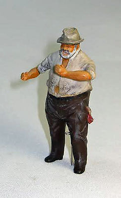 RICH THE ENGINEER  Large Scale G F 1:20.3 Model Railroad Painted Figure FGGJB21