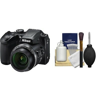 Nikon COOLPIX B500 16.0 MP Digital Camera - Black NEW! *26506* + CLEANINGKIT