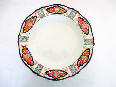 Woods Ware Enoch 1784 Ralph 1750 England Pottery China Nile Soup Bowl/Plate