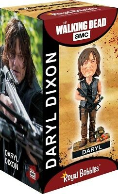 Figure Statuette 20cm DARYL NIXON WALKING DEAD Bobble Head ROYAL BOBBLES Figures