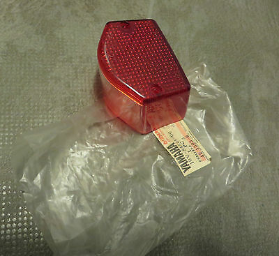 Yamaha Rear Light Glass Stanley DT125 LC DT80 LCI MX - S XT250 TAIL LAMP LENS