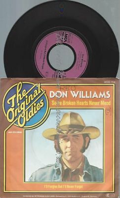 "7""   Don Williams   ‎– Some Broken Hearts Never Mend"