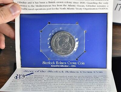1994 Gibraltar The Return Of Sherlock Holmes Crown