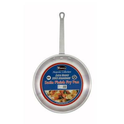 Winco - AFP-8S - Majestic 8 in Aluminum Fry Pan