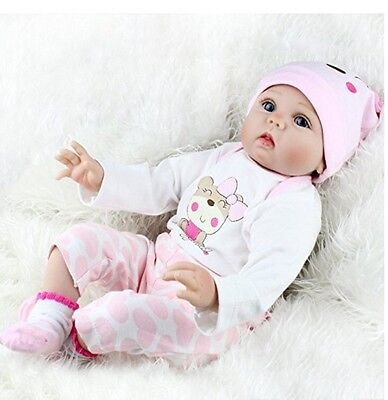Reborn Baby Doll 22In Silicone Head Legs And Arms