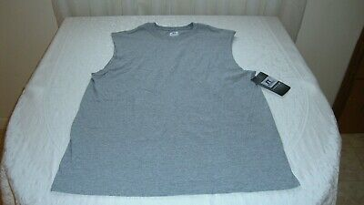 7f3176c0643ea6 Men s Russell Athletic Muscle Tee Shirt Size Medium Oxford Gray NEW With  Tags