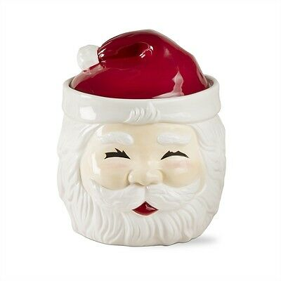 Vintage-style SANTA CLAUS Cookie Jar Christmas Decor by TAG New Adorable Retro
