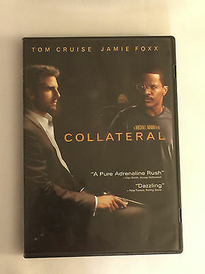 COLLATERAL - 2004 DVD - Tom Cruise, Jamie Foxx
