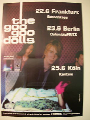The Goo Goo Dolls Concert Tour Poster 1996 Dizzy Up The Girl