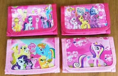 Kids My Little Pony Coin Money Pouch Bags Purse Wallets Birthday Xmas Gifts