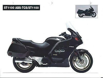 Motorcycle Brochure - Honda - ST1100 ABS-TCS ST1100 - 1994 (DC582)
