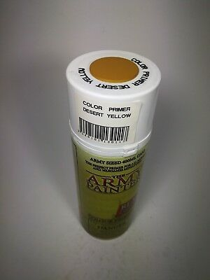 Color Primer - Desert Yellow - Army Sized 400 ml CAN / Sprühdose