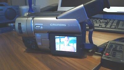 Grundig Hi8 Camcorder,8mm Video8 Camera Recorder,Sony CCD-TRV87E Handycam