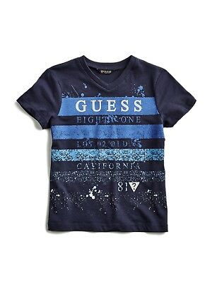 GUESS Factory Boy's Jarlon Logo Tee (2-6)