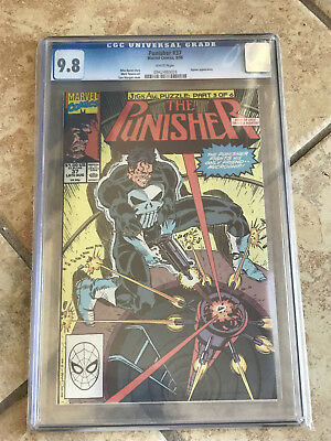 THE PUNISHER #37 Vol. ONE cgc 9.8 1990 JIGSAW PUZZLE Pt 3