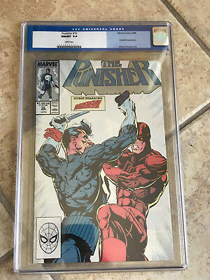 THE PUNISHER #10 Vol. ONE cgc 9.8 1988 Whilce Portacio FEATURING DAREDEVIL