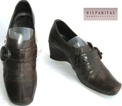 Hispanitas - Shoes Original all Brown Leather 35 - Very Good Condition